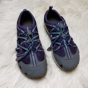 Chaco Kids Purple Outcross Water Shoes
